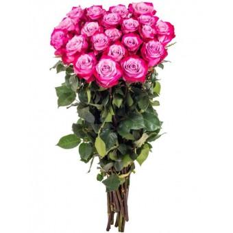 Букет Роз Дип Пёрпл 15 шт.